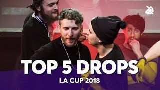 TOP 5 DROPS 😱 LA CUP WORLDWIDE 2018