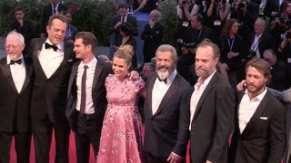 Mel Gibson, Andrew Garfield, Vince Vaughn and more on the red carpet at the Venice Film Festival