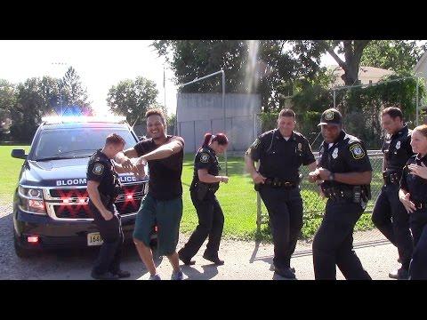 Bloomfield NJ Police Department Running Man Challenge