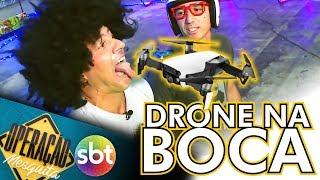 🔸 DRONE na BOCA na Campus Party SP - Operação Mesquita SBT