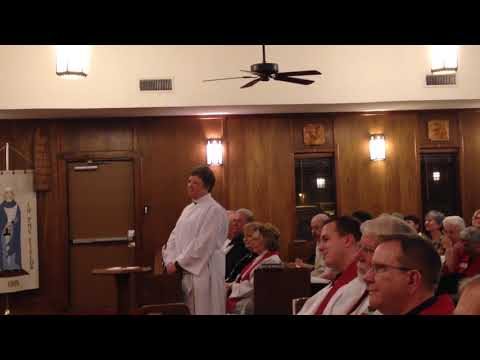 The Priestly Ordination of Annette Mayer in the Episcopal Church