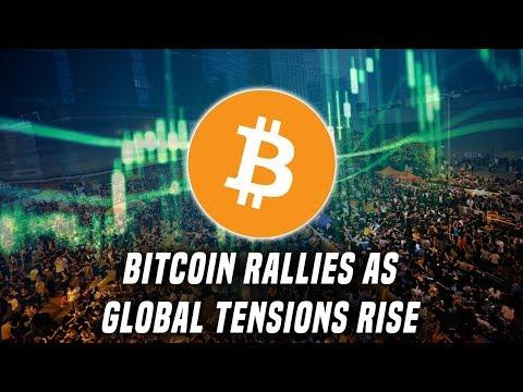 Bitcoin Rallies On Global Fear | Hong Kong, Trade War, & Central Bank Policies