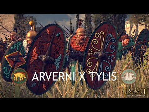Total War: Rome 2 – Online Battle #14 – Arverni x Tylis  