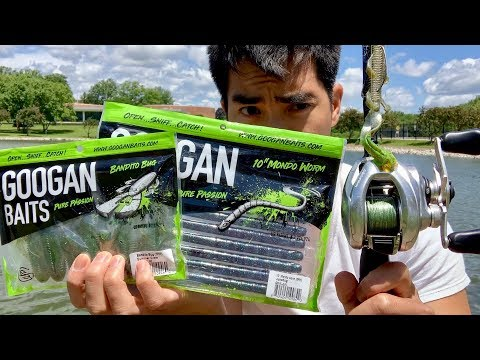 Fishing with GOOGAN BAITS!!! (The TRUTH — Unbiased Lure Review)