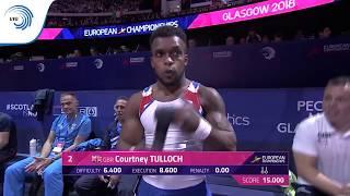 Courtney TULLOCH (GBR) - 2018 Artistic Gymnastics European bronze medallist, rings