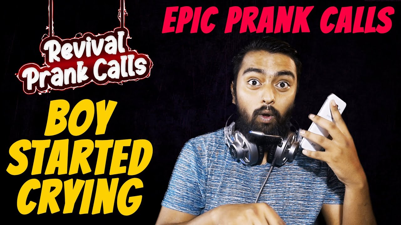 Boy Started Crying || Rusticated From College || Epic Prank calls