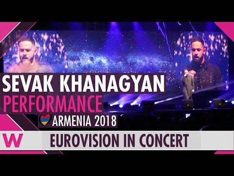 "Sevak Khanagyan ""Qami"" (Armenia 2018) LIVE @ Eurovision in Concert 2018"