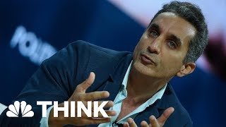 Fighting With Funny: Egypt's Jon Stewart On Political Comedy | Think | NBC News