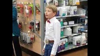 Yodeling Walmart Kid EDM Remix Music Video
