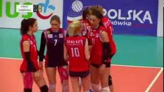 Turniej finałowy mistrzostw Polski kadetek w siatkówce: mecz o 3. miejsce i finał (10 maja 2015)