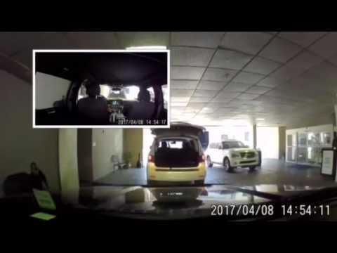 Valet parking caught on video at the SpringHill Suites New Orleans  Downtown/Convention Center