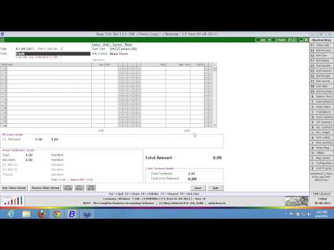 Learn how to do POS & Barcode Billing in BUSY - English
