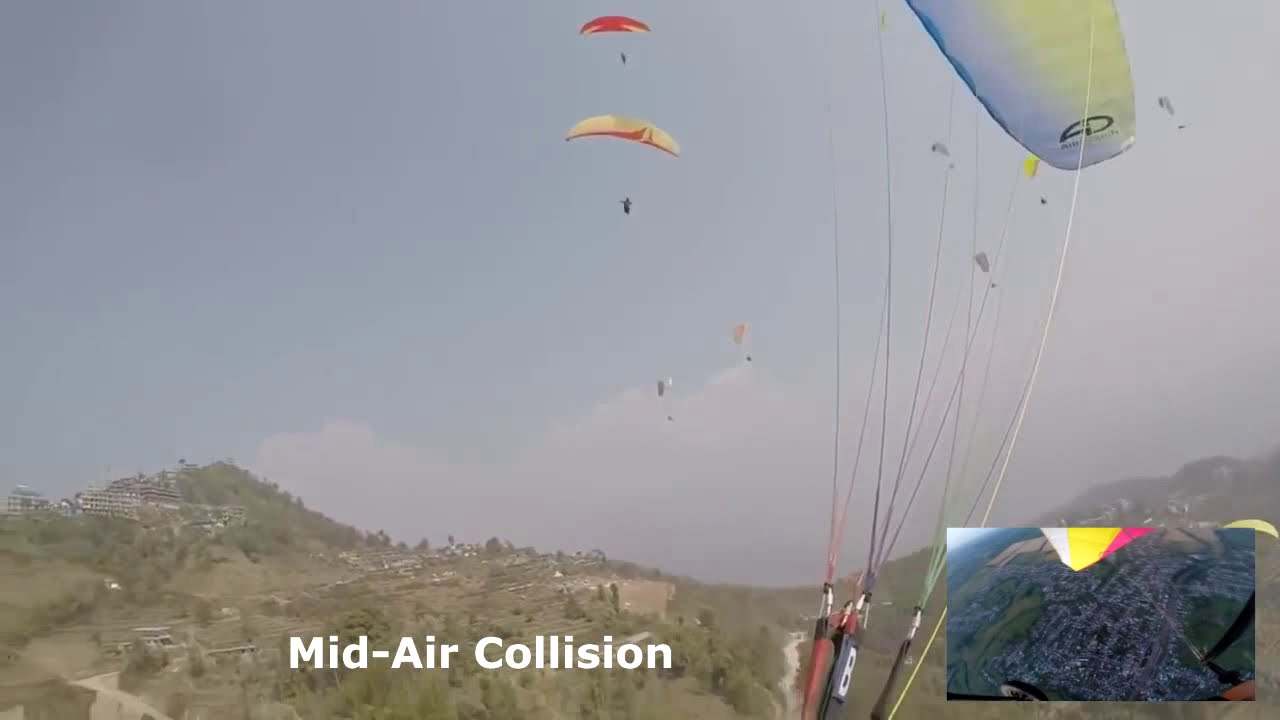 Paragliding Accidents Compilation