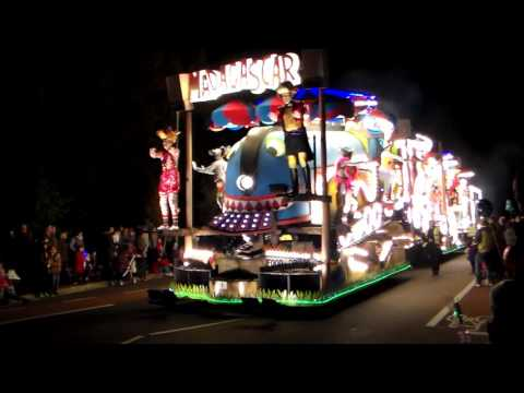 Taunton Carnival 2015 Eclipse CC Madagascar Europe's Most Wanted