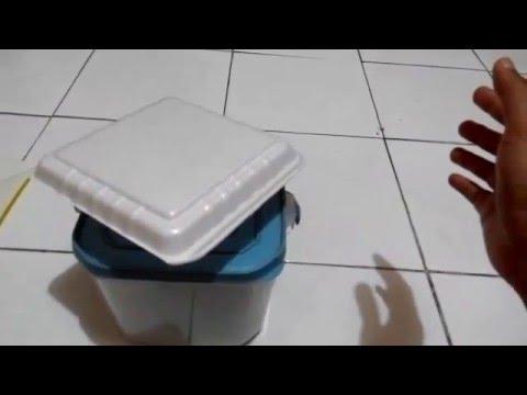 Belajar Telekinesis : Menggerakkan Styrofoam dengan kekuatan pikiran