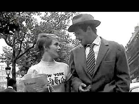Rare 1959 Jean Seberg Interview On Jean Luc Godard S A Bout De Souffle Breathless 1960 Youtube