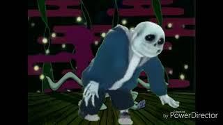 Squidward Dance But instead Its Sans Fortnite Default Dance