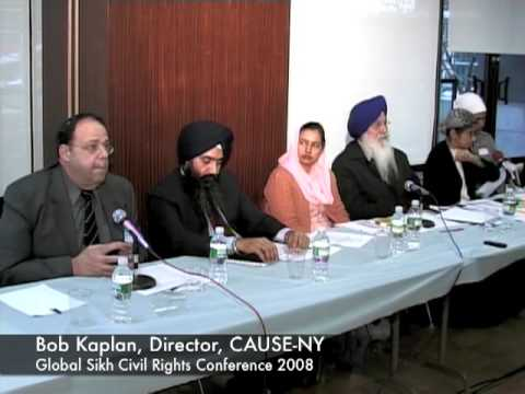 Global Sikh Civil Rights Conf 2008 - Bob Kaplan, Jewish Community Relations Council