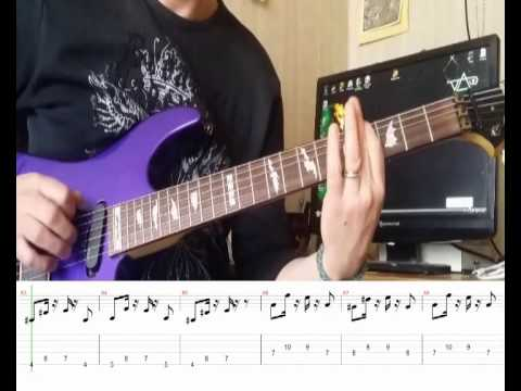 How to play Caprices 24 (Paganini) rock version with TAB and Backing Track