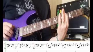 Скачать How To Play Caprices 24 Paganini Rock Version With TAB And Backing Track