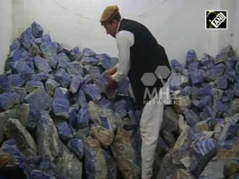 Unlawful mining of lapis lazuli fuelling insurgency in Afghanistan: Global Witness (06 jun,2016)