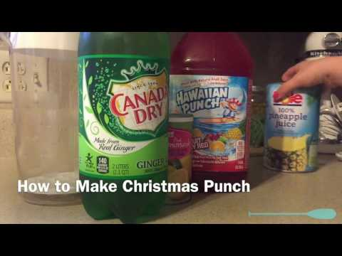 How To Make Christmas Punch