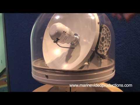 Intellian's Smallest Satellite Dome at the Miami Boat Show