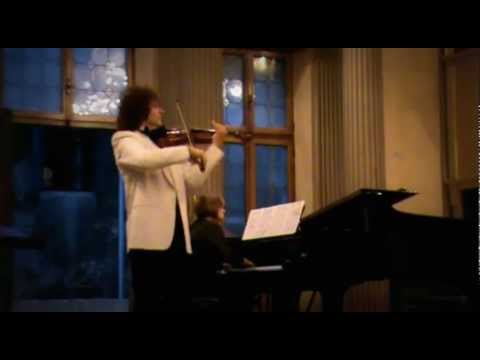 Alexander Markov in Venice playing Alessandro Marcello - Adagio  Concerto in C minor
