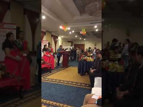 Raju khadka Speech in Palpali samaj Dubai, UAE