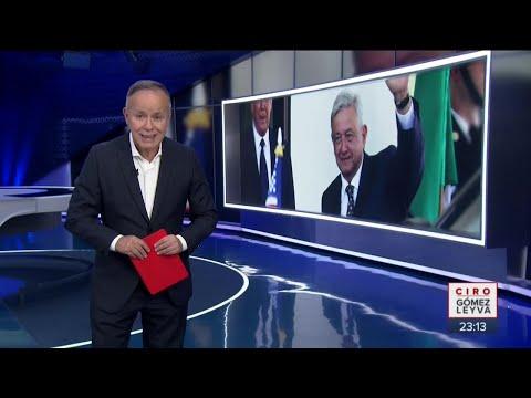 Lo que el presidente López Obrador tiene que celebrar | Noticias con Ciro Gómez Leyva