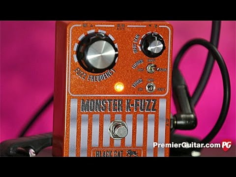 Review Demo - Black Cat Pedals Monster K-Fuzz