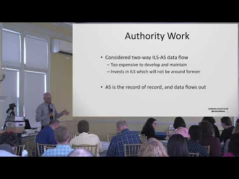Annual Member Forum 2018: Library-style Authority Control in ArchivesSpace