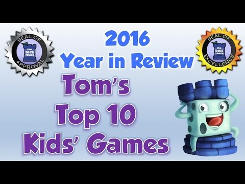 Tom's Top 10 Kids' Games of 2016