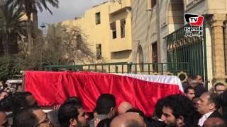 تشييع جثمان الإعلامية نجوى أبو النجا لمثواها الأخير