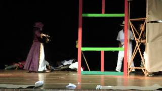 Gimnorte: Izada de Bandera Independencia de Cartagena 2010