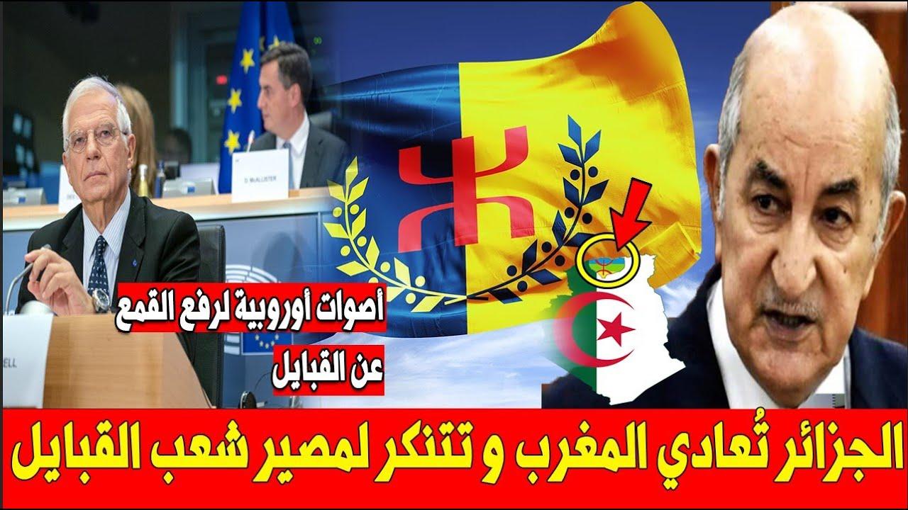 عاجل .. قمـ ـع النظـ ـام الجزائري الممـ ـنهج في القبائل يثـ ـير إنـ ـتباه أعـ ـضاء البرلمان الأوروبي