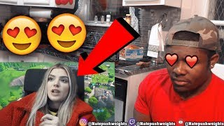 RICEGUM Gets Alissa Violet to Strip (FORTNITE CHALLENGE) 1 KILL = REMOVE 1 CLOTHING | REACTION