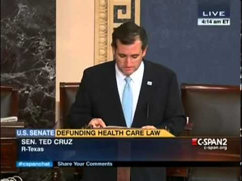 Ted Cruz reads from Atlas Shrugged