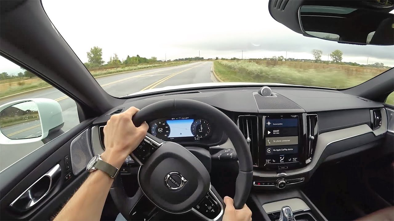 2018 Volvo Xc60 T8 Plug In Hybrid Pov First Impressions Binaural Audio