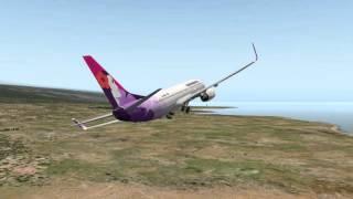 737-800 Hawaiian Airlines Start in Kailua-Kona (Teil 1)