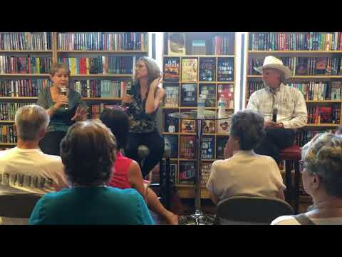 Linda Castillo And Keith McCafferty Discuss Their Books With Barbara Peters.