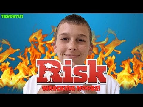 Wrecking Noobs!!!!!~Risk Global Domination #1