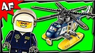 Lego City Swamp Police Helicopter Pursuit 60067 Stop Motion Build Review