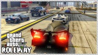 GTA 5 ROLEPLAY - 5000hp Devel Sixteen Pink Slip Drag Racing | Ep. 373 Civ