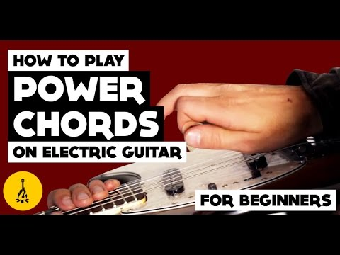 how to play power chords on electric guitar for beginners and the major scale youtube. Black Bedroom Furniture Sets. Home Design Ideas