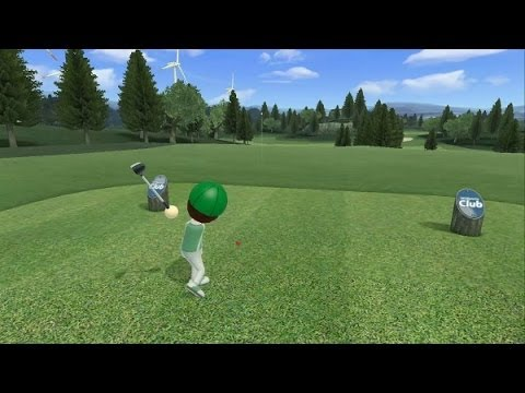 Wii Sports Club Golf - Lakeside 9 Hole Course -6