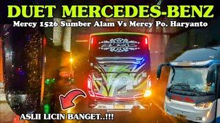 Sama Sama Lincah Nya Duet Sportif Sumber Alam Vs Po Haryanto Mercy Team