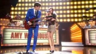 Mark Ronson feat Amy Winehouse   Valerie @Brit awards 2008 HQ