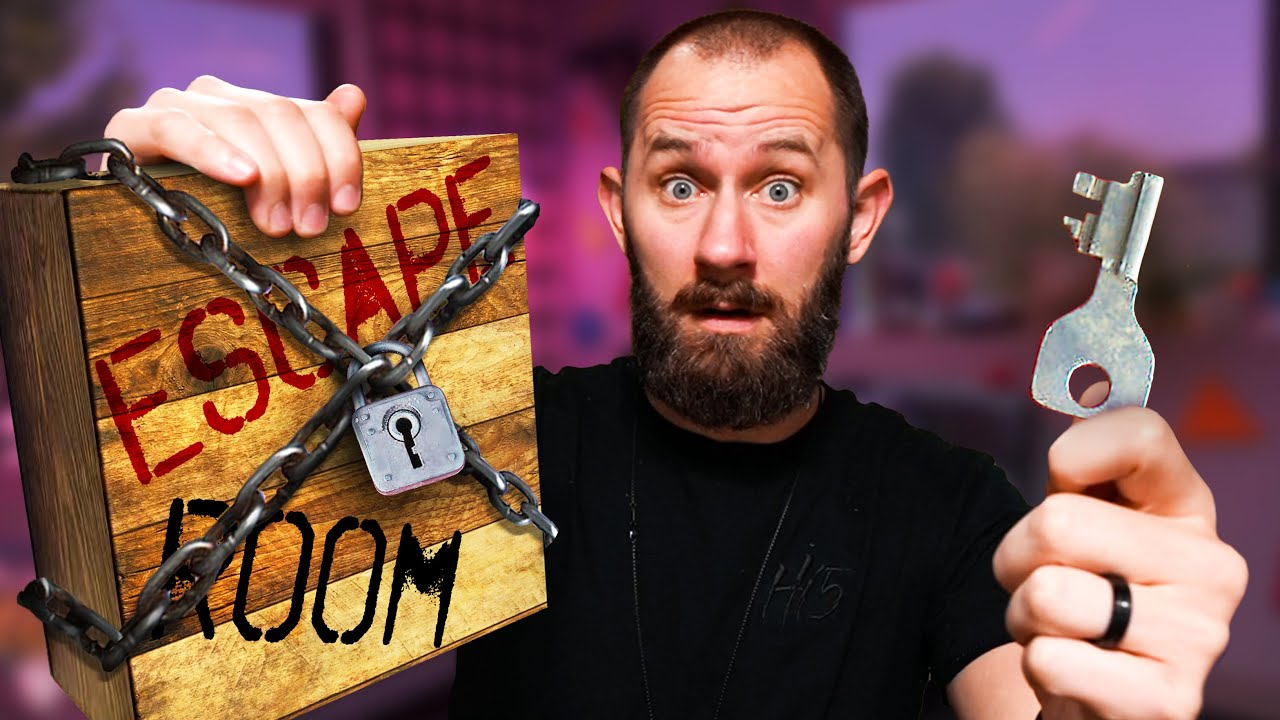 Solving An Escape Room In A Box!