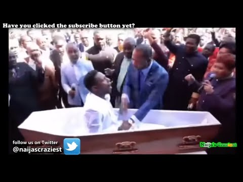 Pastor Alph Lukau Raises Brighton Moyo Back From The Dead